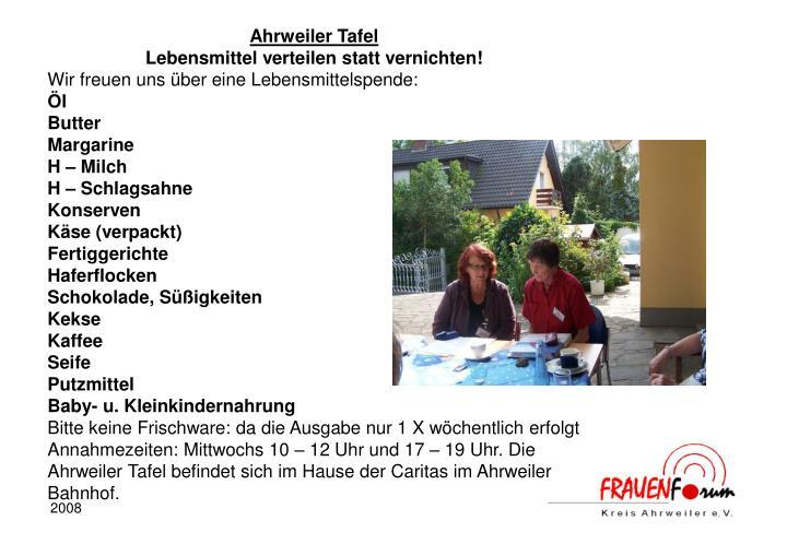 Ahrweiler Tafel
