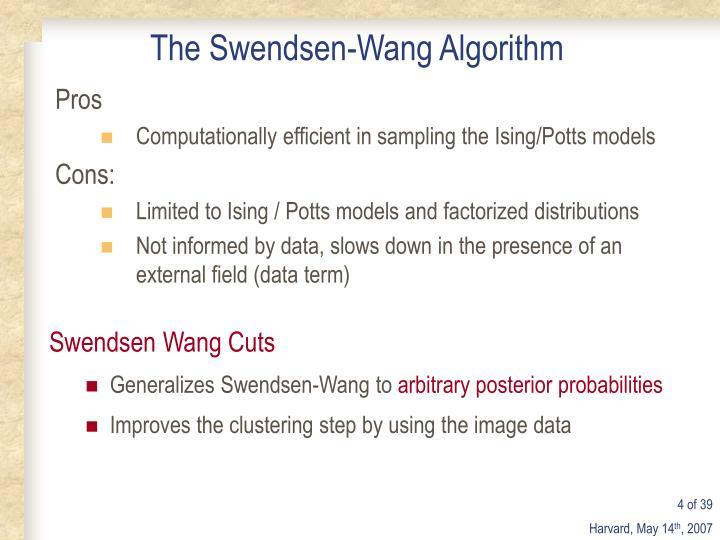 The Swendsen-Wang Algorithm