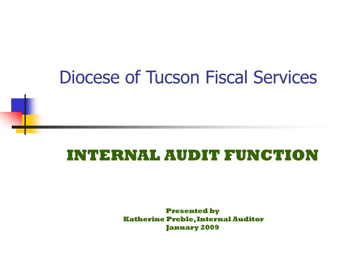 diocese of tucson fiscal services