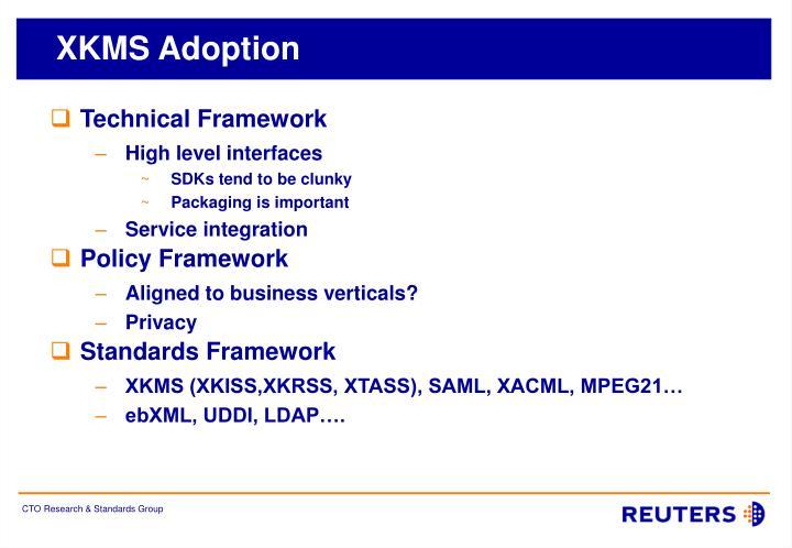 XKMS Adoption
