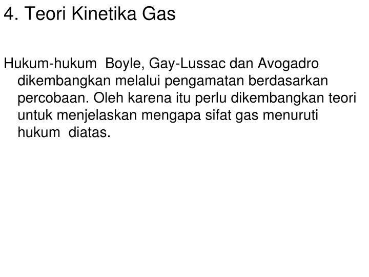 4. Teori Kinetika Gas