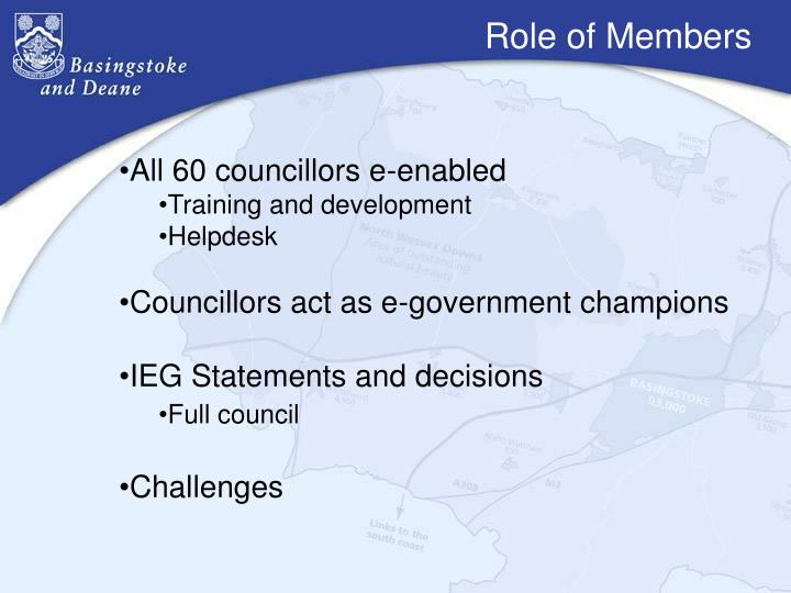 Role of Members