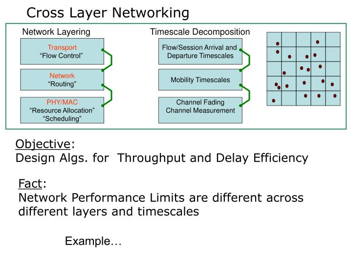 Cross Layer Networking