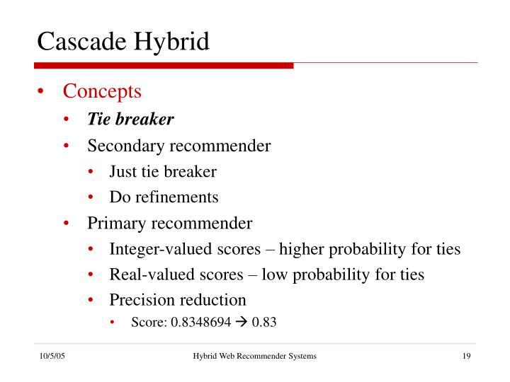 Cascade Hybrid