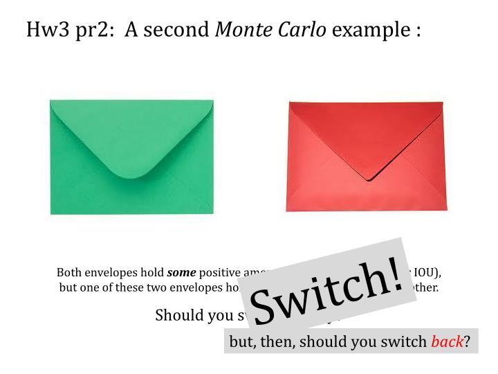 Hw3 pr2:  A second
