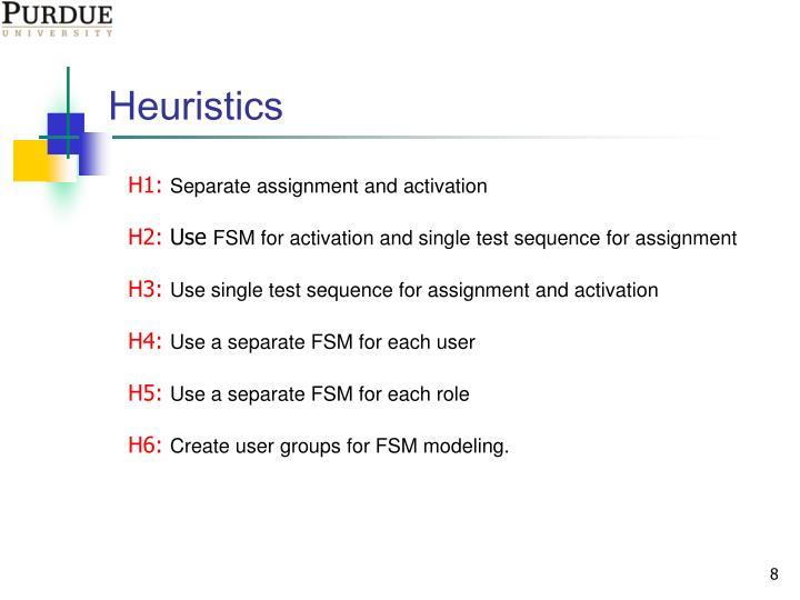 Heuristics