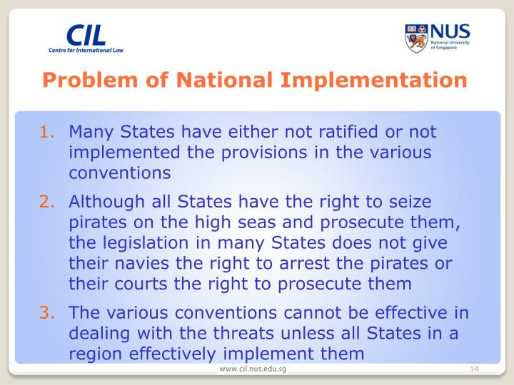 Problem of National Implementation