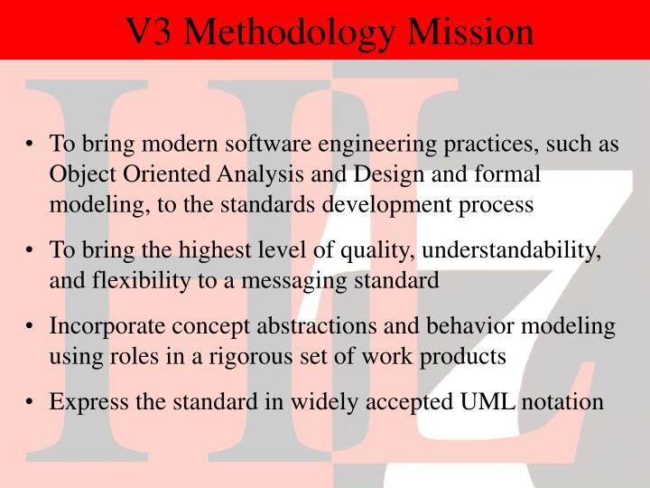 V3 Methodology Mission