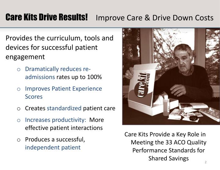 Care Kits Drive Results!