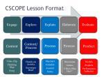 cscope lesson format