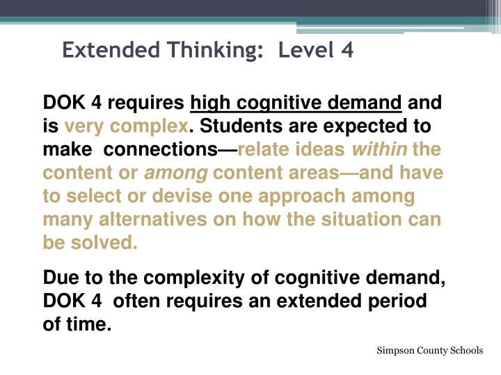 Extended Thinking:  Level 4