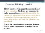 extended thinking level 4