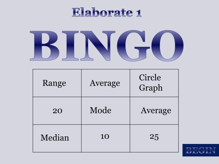 Elaborate 1