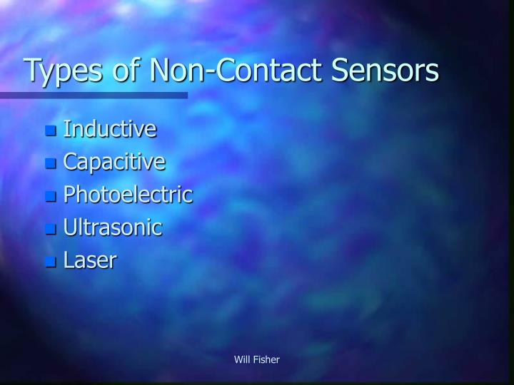 Types of Non-Contact Sensors
