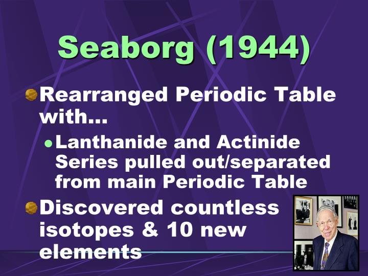 Seaborg (1944)