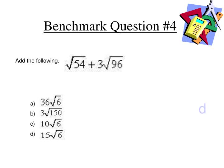 Benchmark Question #4