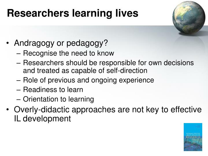 Researchers learning lives