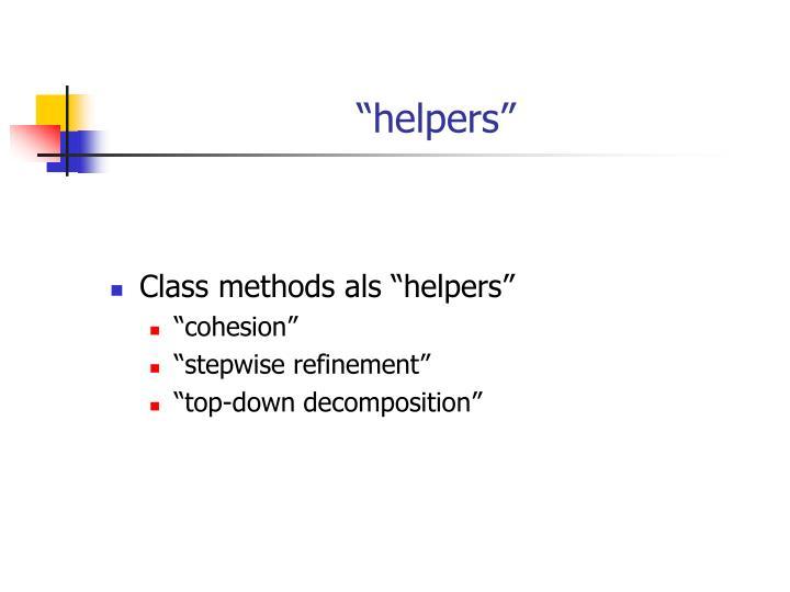 """""""helpers"""""""