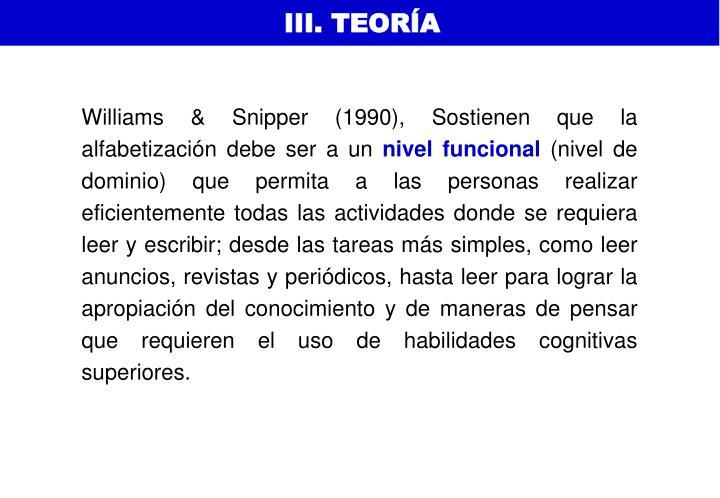 III. TEORÍA