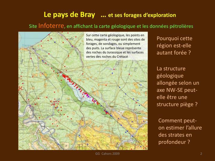 Le pays de Bray   …