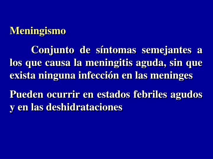 Meningismo