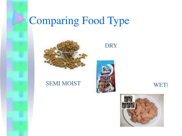 Comparing Food Type