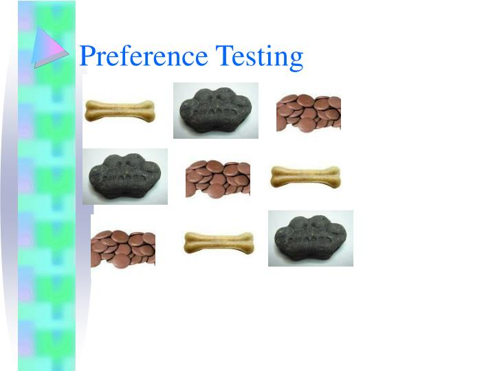 Preference Testing
