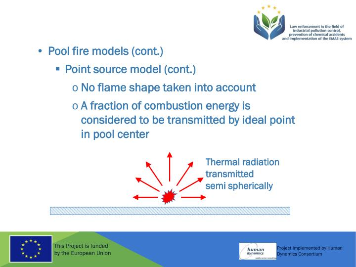 Pool fire models (cont.)