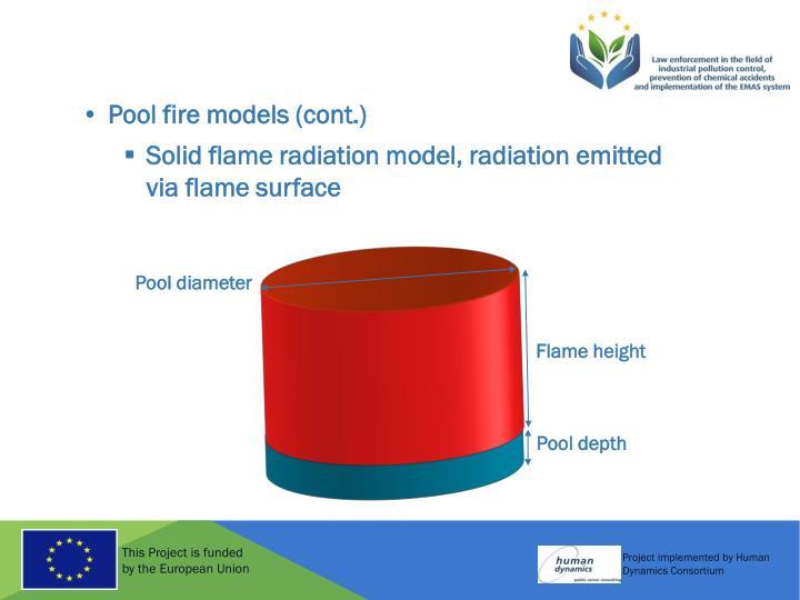 Pool diameter