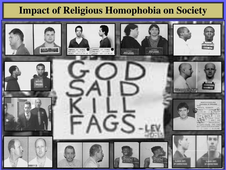 Impact of Religious Homophobia on Society
