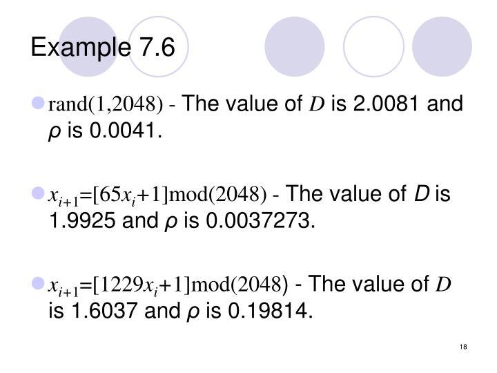Example 7.6