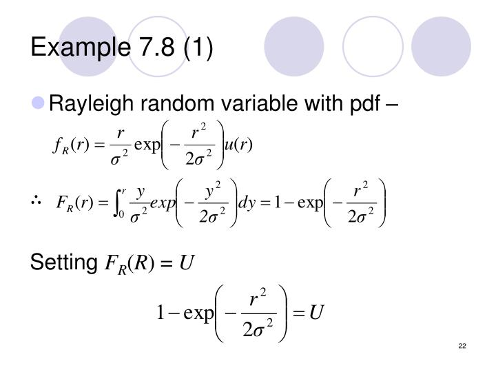 Example 7.8 (1)