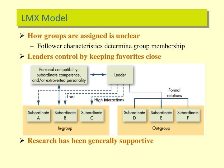 LMX Model