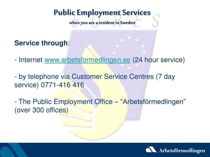 public service sverige