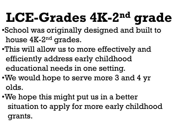 LCE-Grades 4K-2