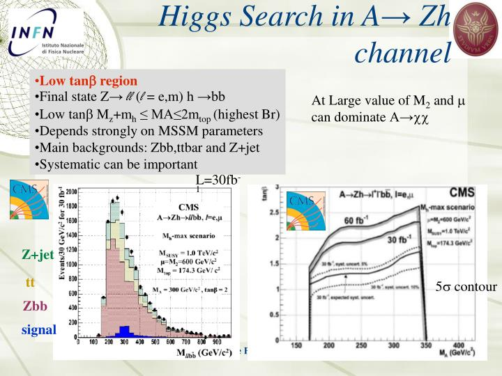 Higgs Search in A