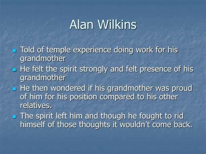 Alan Wilkins