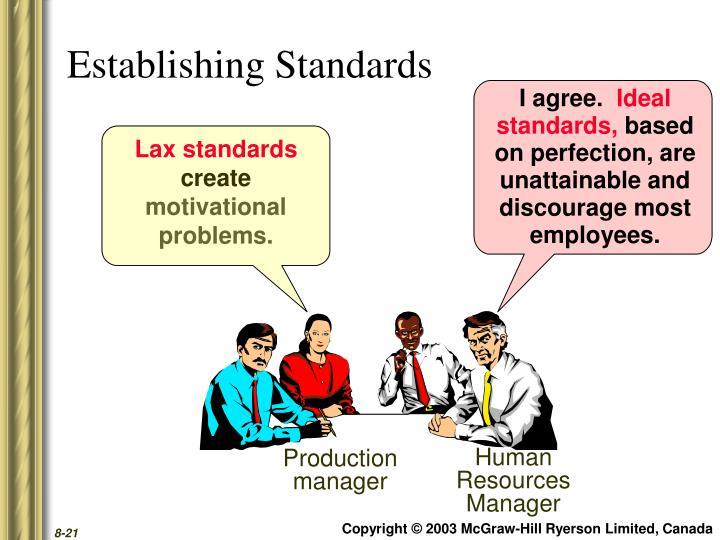 Lax standards