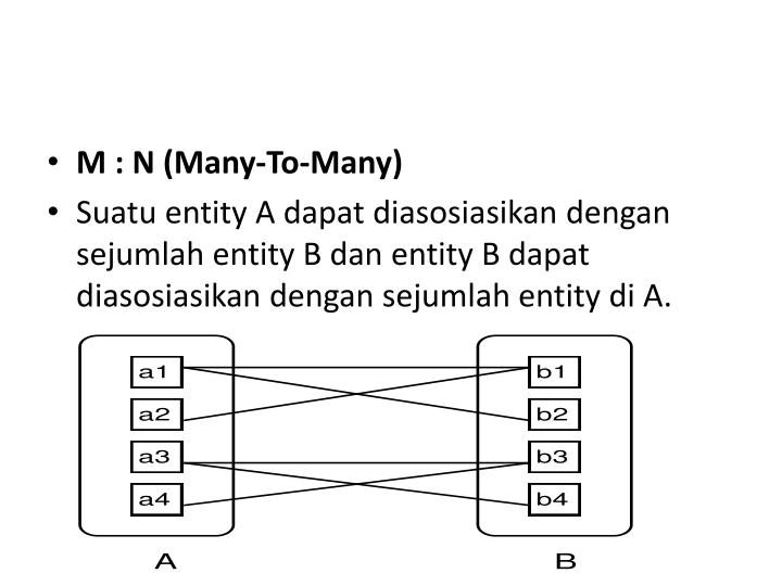 M : N (Many-To-Many)