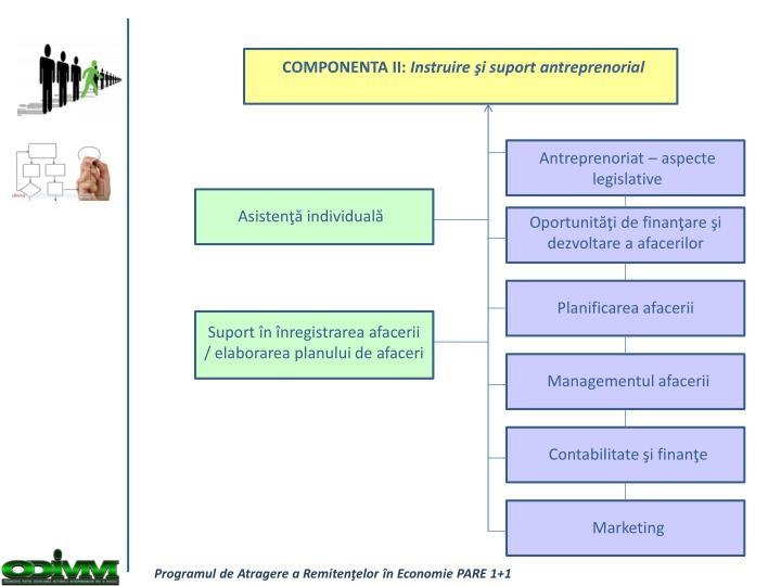 COMPONENTA II:
