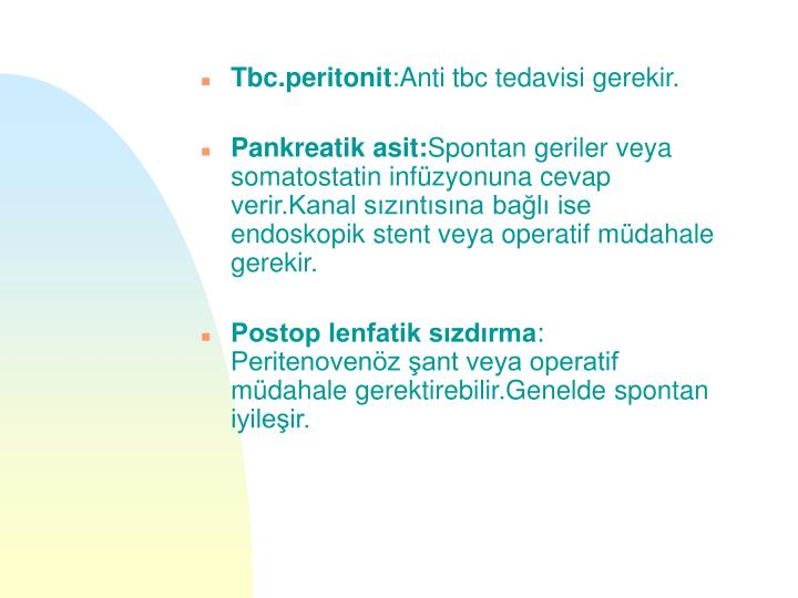 Tbc.peritonit