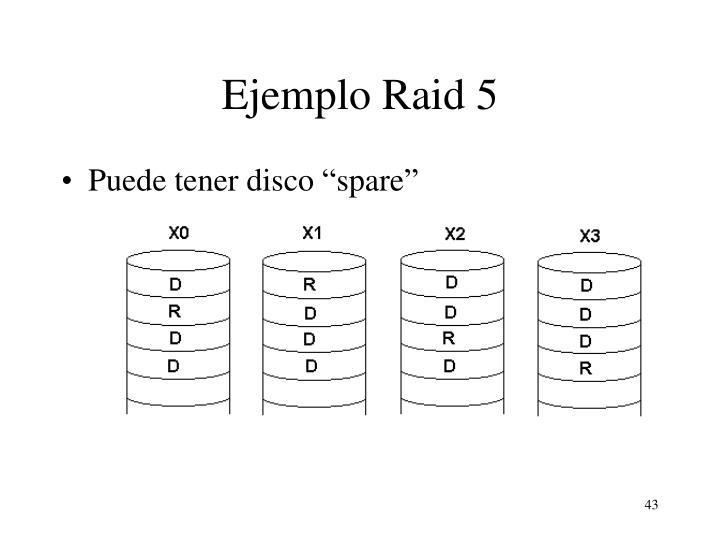 Ejemplo Raid 5