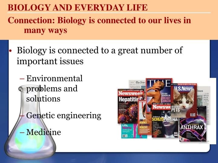 BIOLOGY AND EVERYDAY LIFE