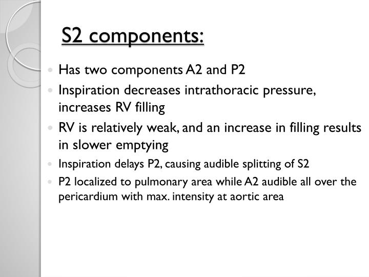 S2 components: