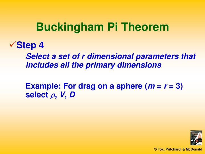 Buckingham Pi Theorem