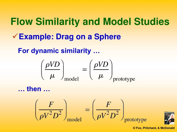Flow Similarity and Model Studies
