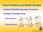 flow similarity and model studies5