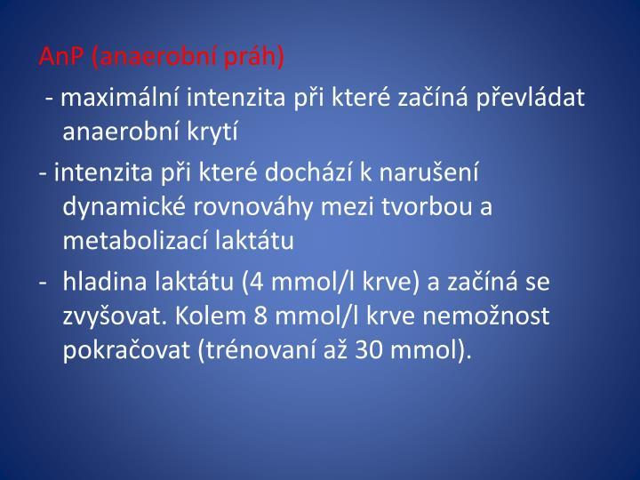 AnP (anaerobní práh)