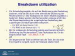 breakdown utilization1