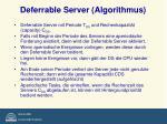 deferrable server algorithmus